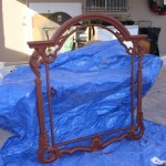 Trellis Frame Painted